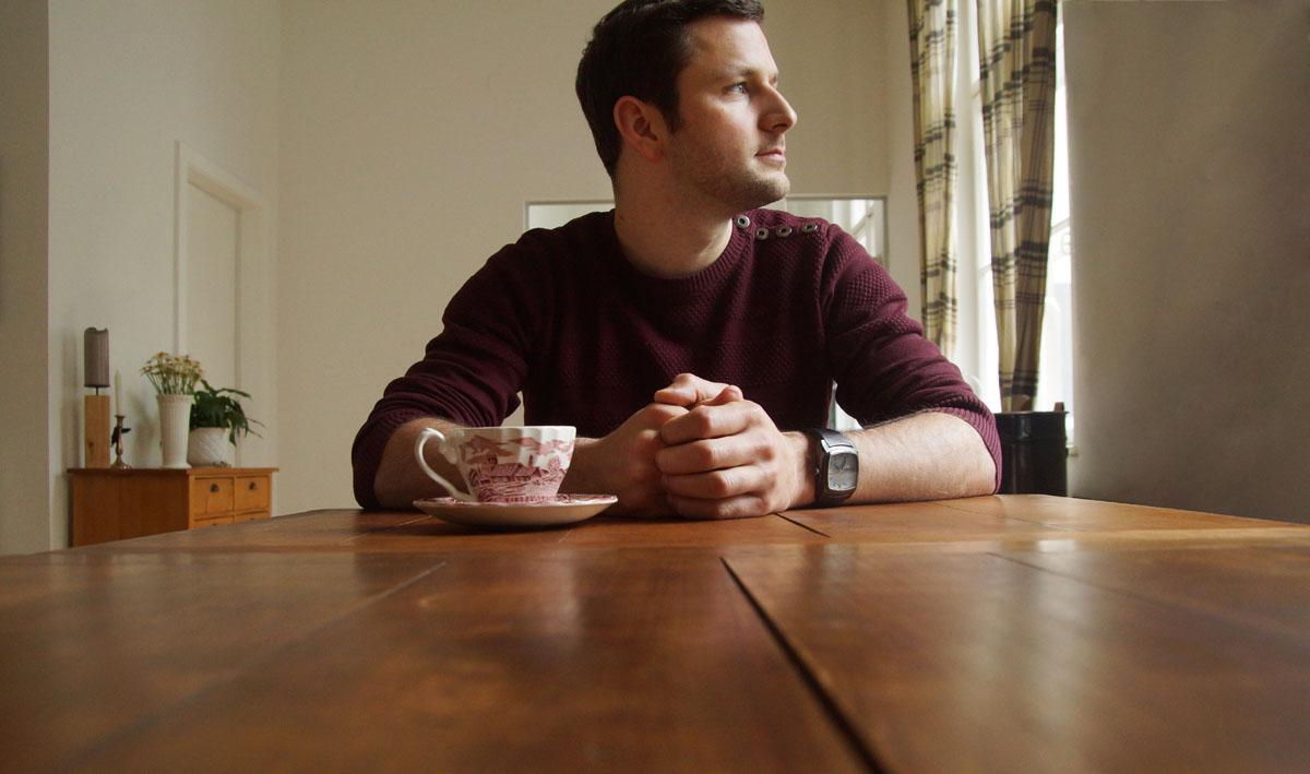 Die Ruhe in Person. Auch nach mehreren Tassen Kaffee.