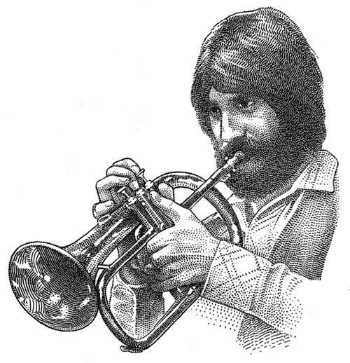 Als einziger Trompeter auf dem Cover des Wallstreet Journal: Studioberserker Chuck Findley hat Geschichte geschrieben, dank seines Einkommens.