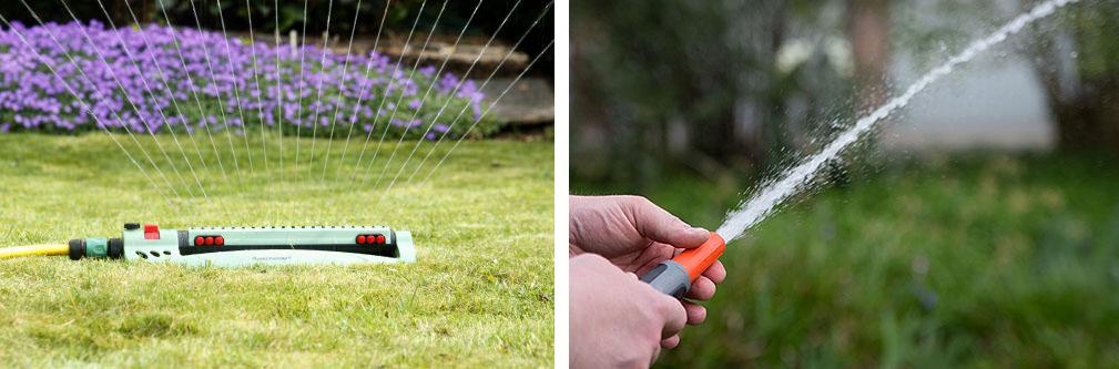 Was bist du: Regner oder Spritzer? Beides hat seine Berechtigung, je nach Situation und Absicht.